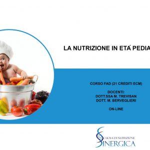 CORSO DI NUTRIZIONE PEDIATRICA [con ECM]